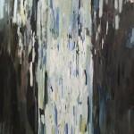Ricardo Itabirito - Figura Acontece  2, óleo sobre tela, 270 x 120 cm