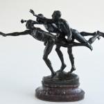 Au But - escultura em bronze art Déco  -1925