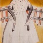 Frida Kahlo_Muchacha pueblerina- 1925