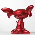 Rog ®rio Degaki - Art Nouveau, 2013 - isopor, resina pl ística, fibra de vidro e pintura automotiva 30 x 30 x 40 cm