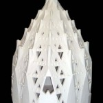 Maquete da Sacristia da Basílica da Sagrada Família_Escala1_25_Gesso_73 x 73 x 110 cm_UPC_Junta Constructora del Temple de la Sagrada Família