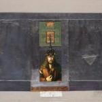 HERTON ROITMAN - Técnica mista sobre papel, 77 x 54 cm, 2017