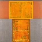HERTON ROITMAN - Técnica mista sobre tela, 110 x 90 cm, 2000