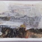 Abstração 044_Flavio Santoro_0,87mx0,73m_colagem e pintura com tinta acrílica_ano 2017