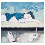Maria Klabin - Sem título - 130x123cm - Óleo sobre tela - 2017