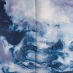 Atlas IV_Pintura sobre papel artesanal_Hilal Sami Hilal