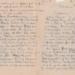 Laercio Redondo - Carta em ALE MÃO 1942 (Cais de Naxos 1942) - Impressão em seda, impressaão em vidro e xerox - 2017 (2)
