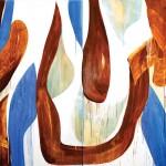 Arnaldo de Melo Sem titulo II 2017 (dipt ico) acrílica sobre tela 200 x 300 cm