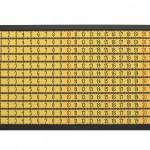 Nelson leirner - Fita metrica - 115x20 0cm - Lã e trama - 2018 - Ed. única