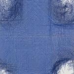 Caetano de Almeida_CAA-40_Resina e pigmento sobre tela_140cmX120cm_Foto Edouard Fraipont