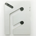 Alexandre Canonico - Untitled (f) - 73x55cm - Compensado laminado, arruelas e parafusos - 2018