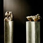 Ame?lia Toledo, Drago?es Canto res, pedras perfuradas sonorassobre colunas de concreto, di menso?es variadas, 2007 (1)