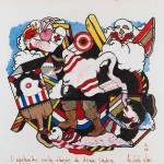 Antonio Dias_O espetacular contra ataque da arraia voadora, 1966_crédito Romulo Fialdini e Valentino Fialdi _198_300dpis_35cm_77