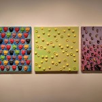 Bruno Miguel_Candy Series_Sorria_2017_resina de poliéster e tinta em spray sobre madeira