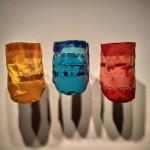 Bruno Miguel_Série O Vazio que nos consome_Composição Arroz_2015_resina de poliéster e tinta em spray modelada em embalagem plástica consumida na casa do artista